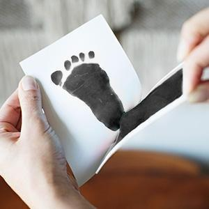 Baby Hand & Foot Print Disposable Wash Pad