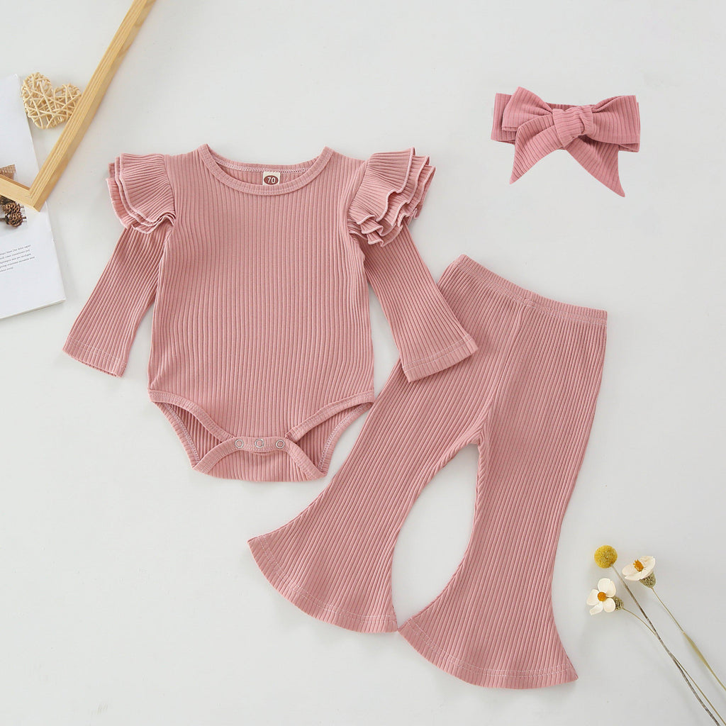 3-Piece Baby Cotton Pure Sets