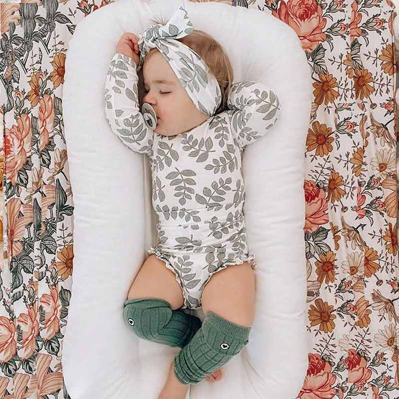 4-piece Baby Leaf Cotton Set