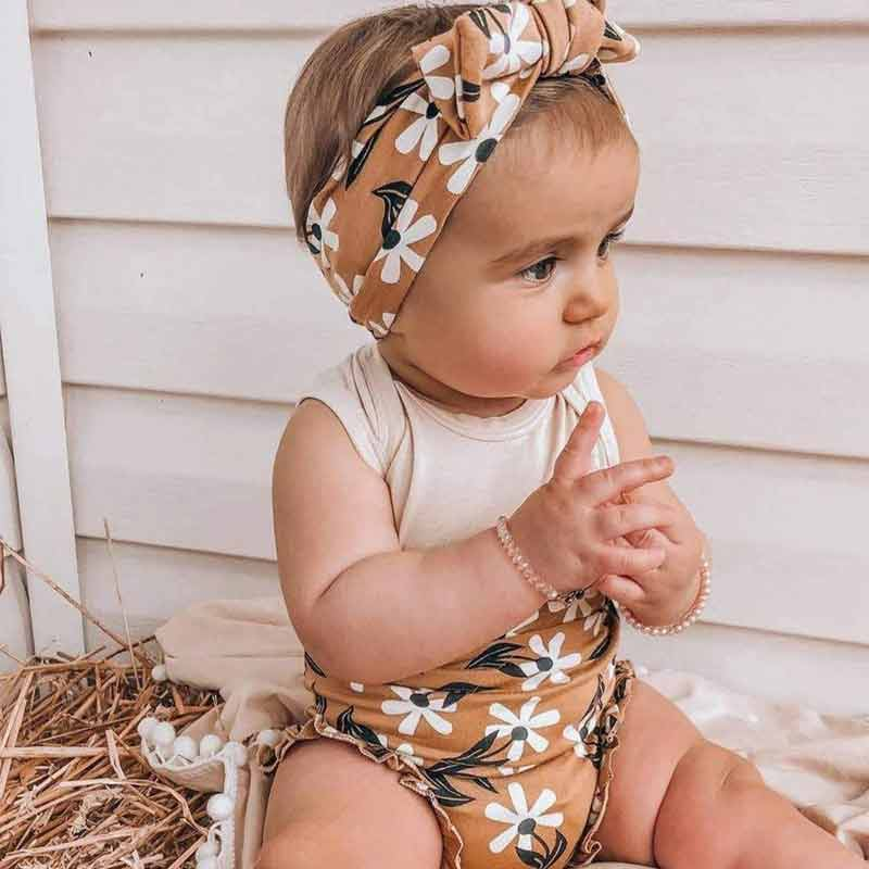 3-piece Flower Cotton Suit