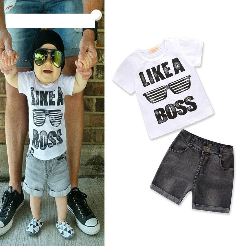 Summer Boy Like a Boss Set