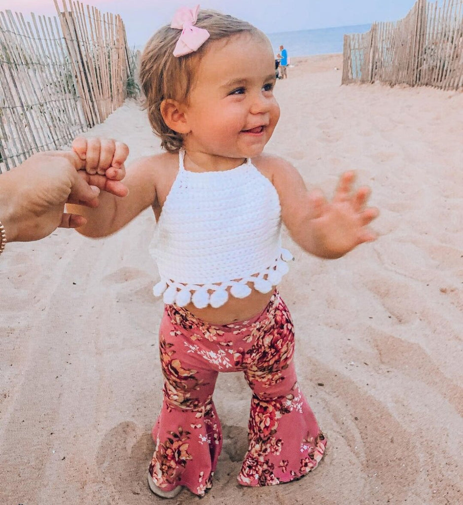 Baby Girl Flower Suits
