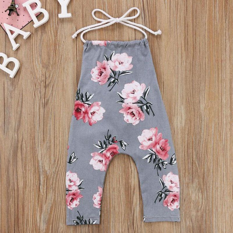 Baby Flower Vest Jumpsuit