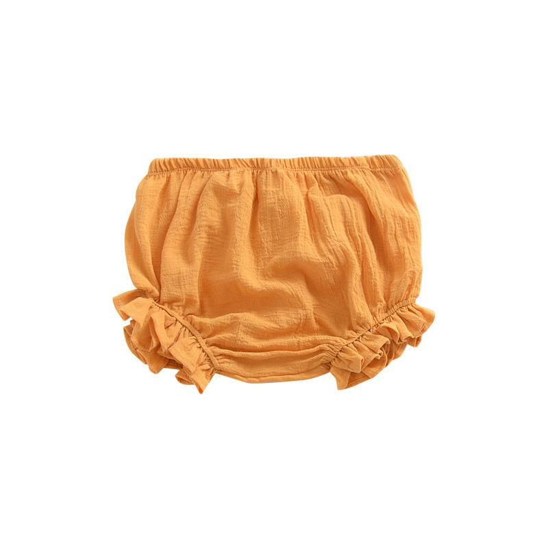 Pure color big PP baby pants