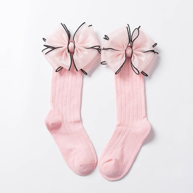 Bowknot Thin Children Socks