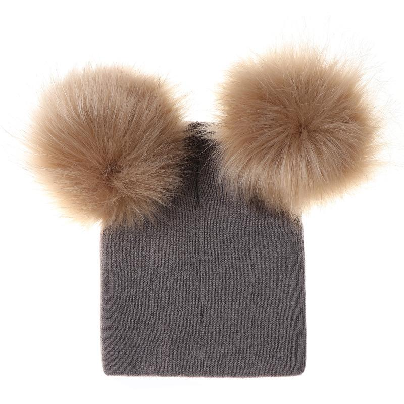 Fashion Baby Hats Toddler Girl Boy Winter Warm Cute Hat Beanie