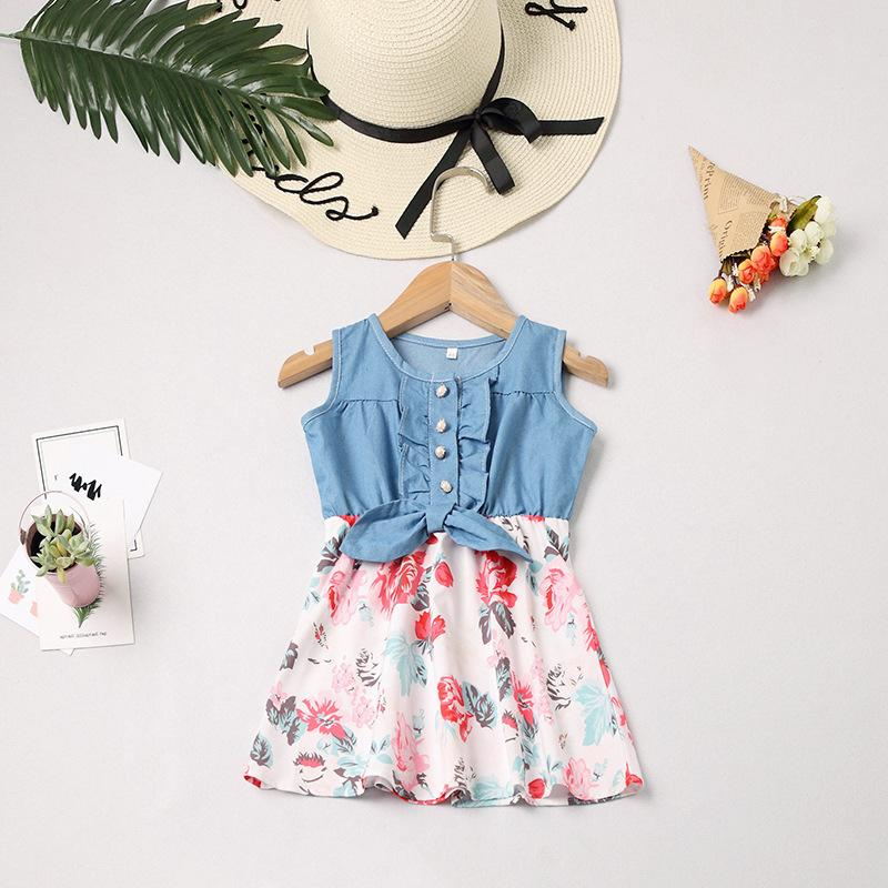 MOM ME One-piece Flower Dress