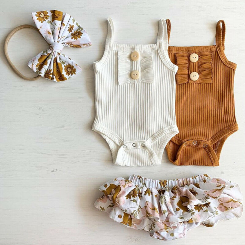 2-piece Girl Cotton Shirt Set