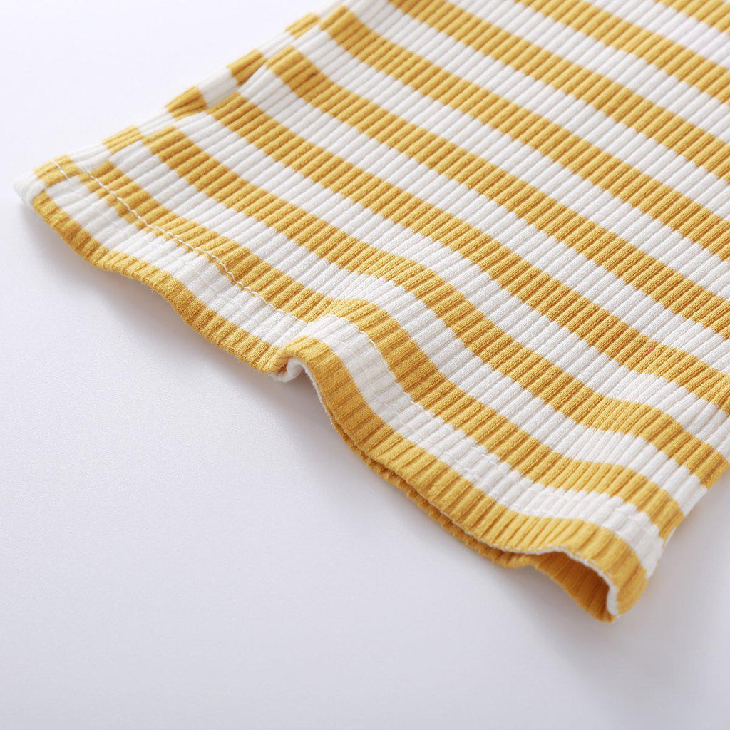 2-piece Baby Stripe Cotton Set
