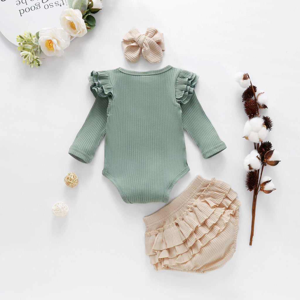 3-piece Reffles Baby Set