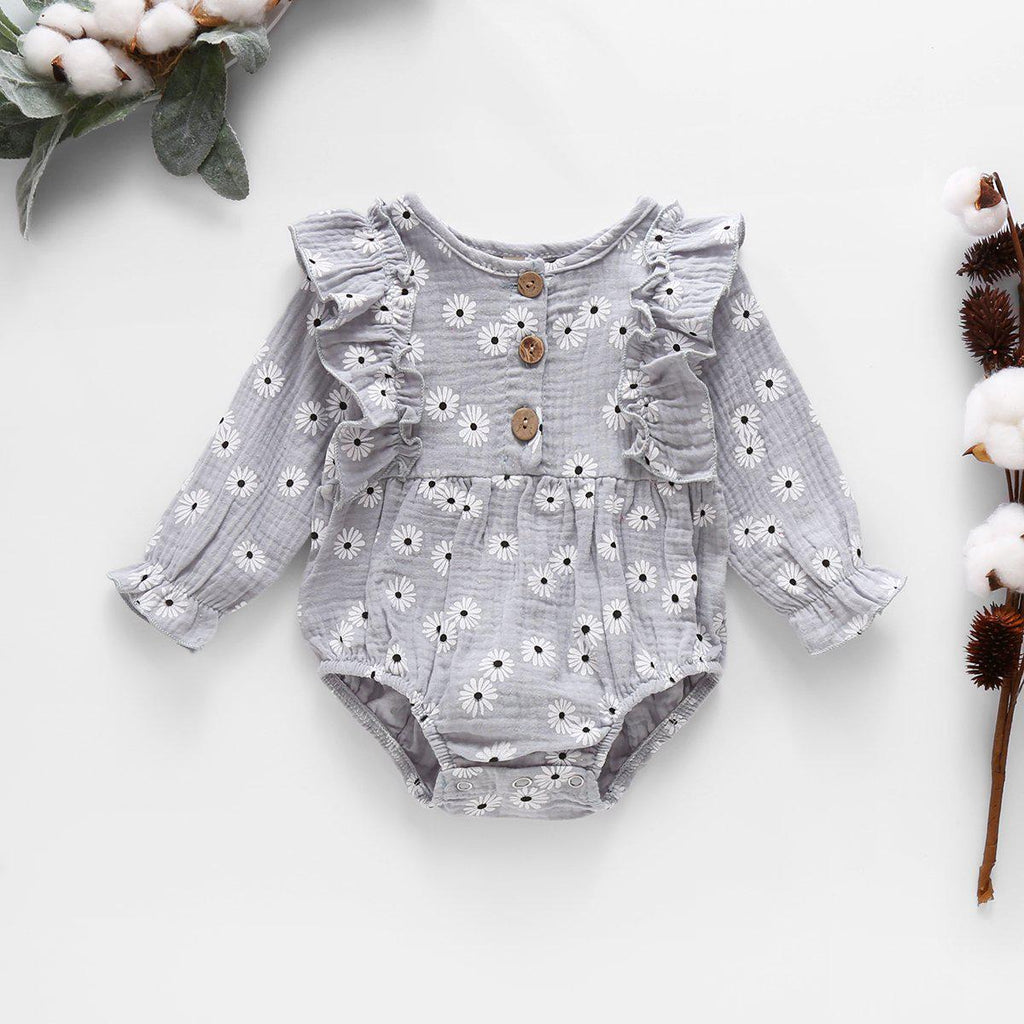 Baby Girl Floral Rompers