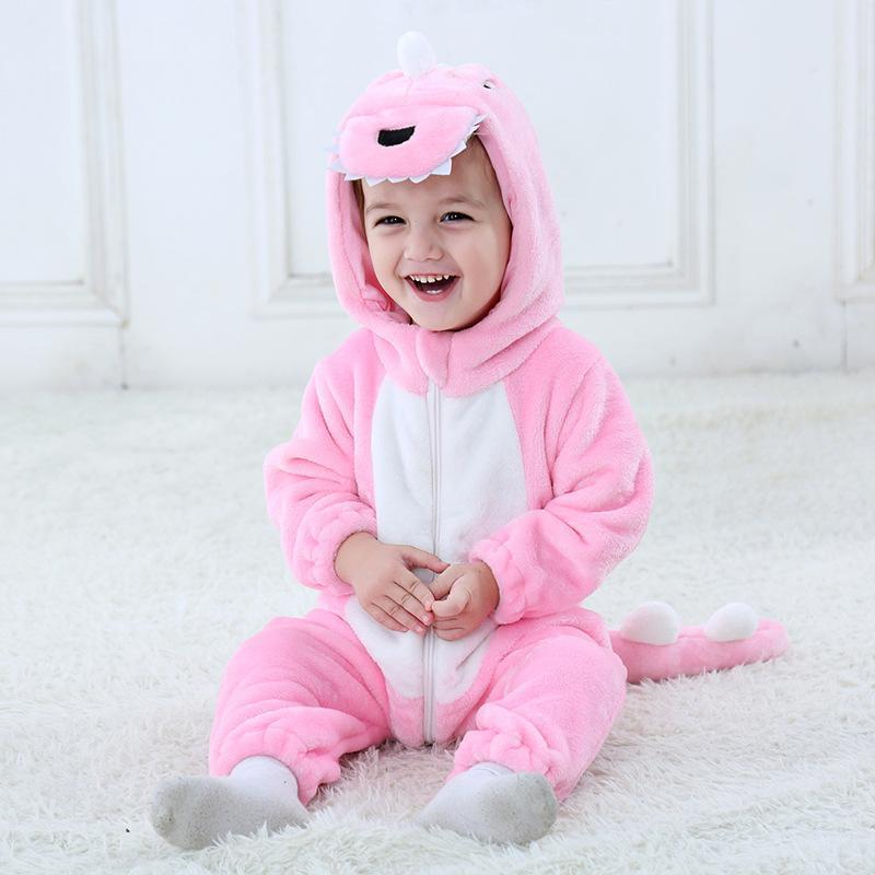 Baby Boys Girls Cute Dinosaur Outfits