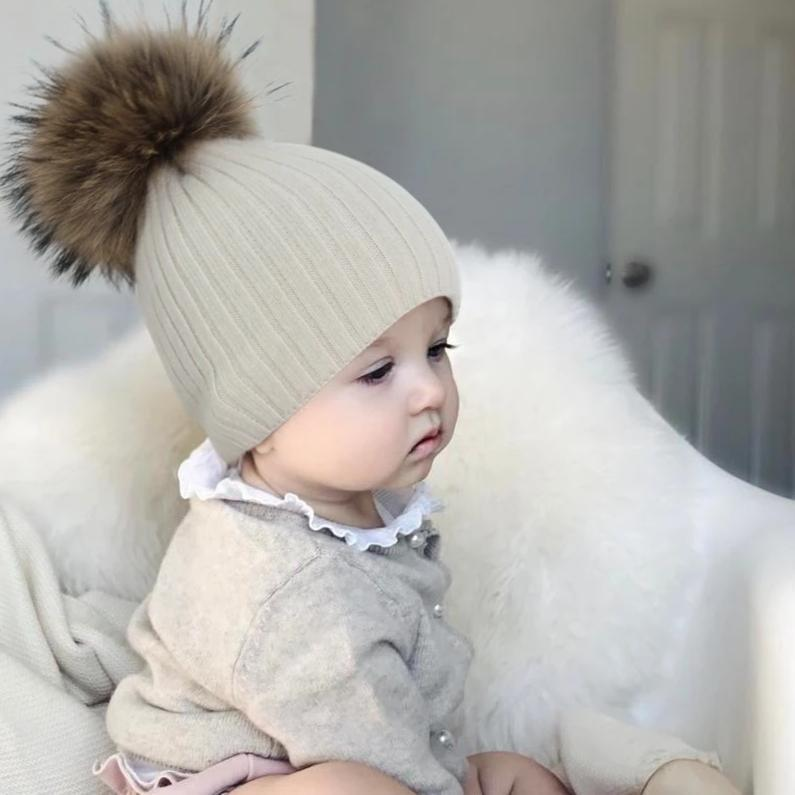 Baby Warm Knit Hat