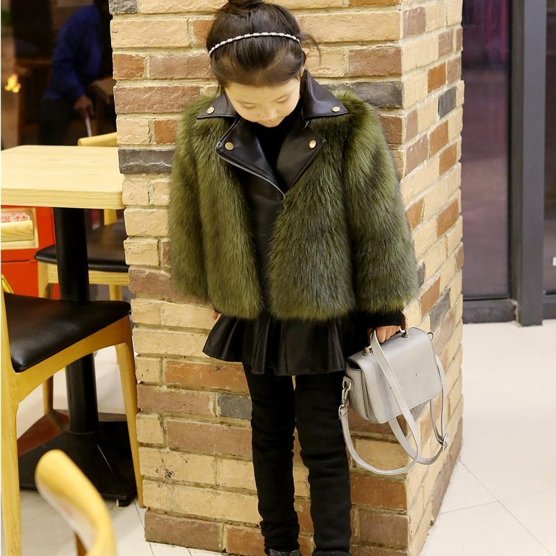 Parent-child Wool Coat
