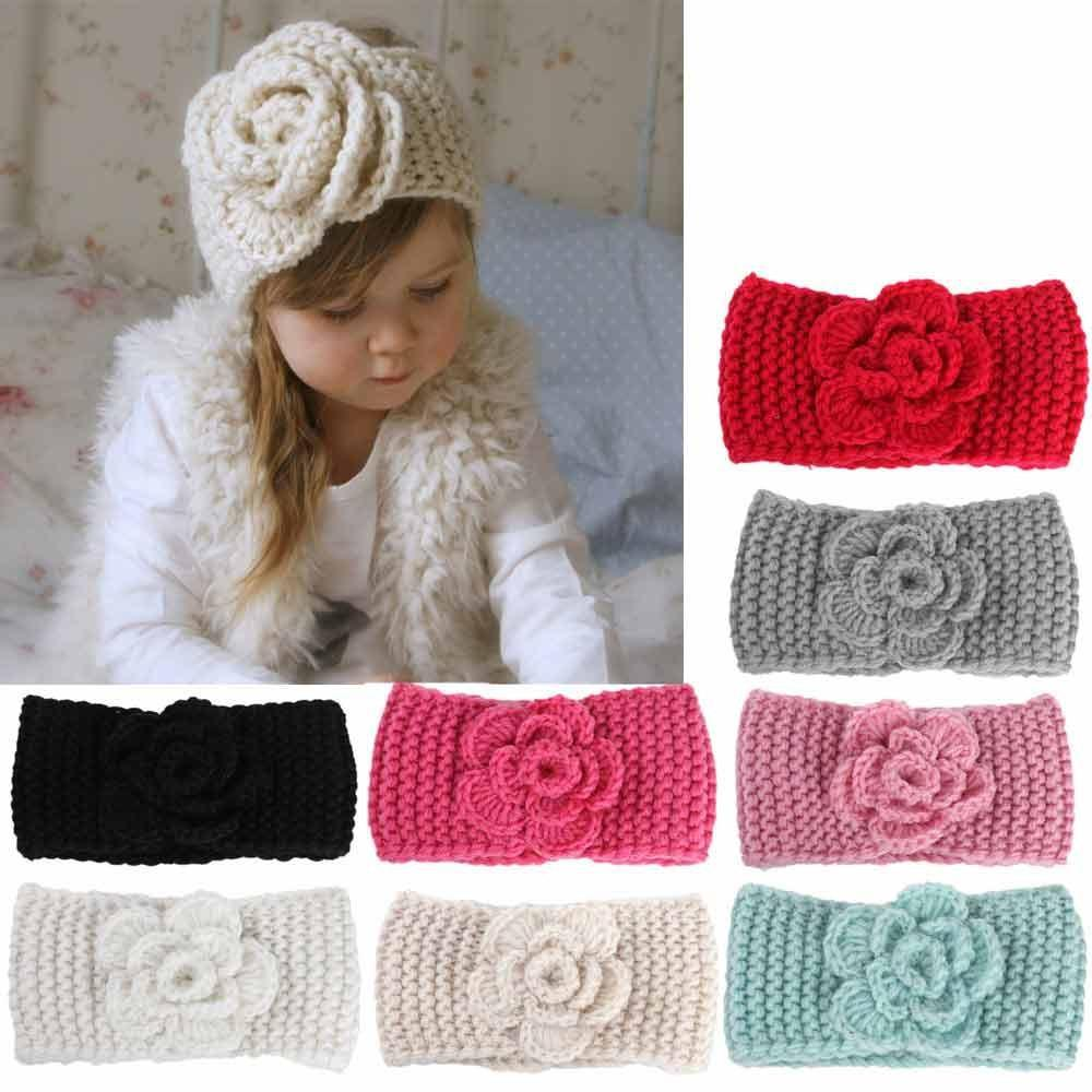 Baby winter Knitting Hairband 0-4y