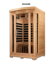 Pre-Order Infrared Saunas - Pro 6 by Golden Design 2 person (eta May 4)