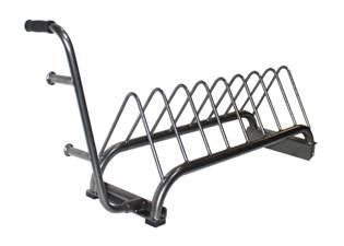 Bumper Plate Tray Rack Portable