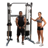 Body Solid Functional Trainer GDCC210 Machine with 210lb Weight Stacks