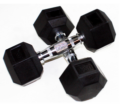 TROY / USA SPORTS RUBBER COATED DUMBBELLS IN STOCK (PICKUP ONLY)