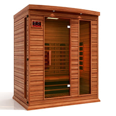 Full Spectrum  Infrared Sauna Maxxus 3 Person - Canadian Red Cedar