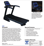 ENDURANCE CARDIO HOME FOLDING TREADMILL BODY SOLID in stock (PICKUP)