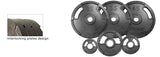 YORK®  Cast Iron Olympic Set & Bar