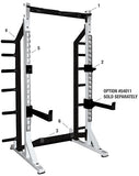 YORK® Self Standing Commercial Half Rack