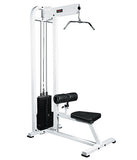 YORK® Selectorized Lat Pulldown Machine 300 lb stack