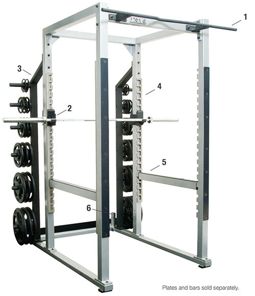 YORK® Commercial Power Rack