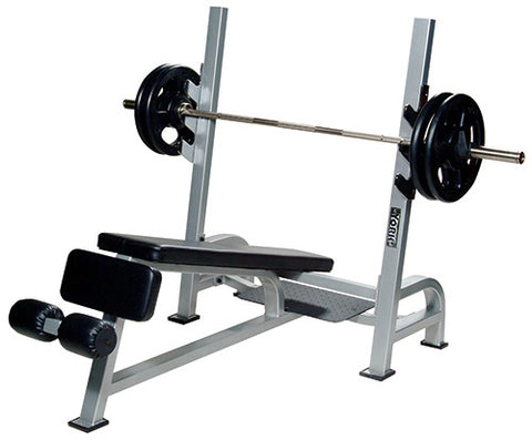 YORK® Commercial Olympic Decline Barbell Bench Press