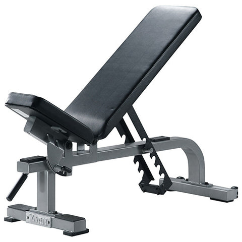 York Commercial Adjustable Flat to Incline Utility Bench