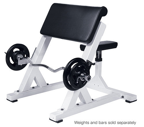 YORK® Preacher Curl Bench