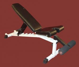 TDS Flat Incline & Decline Bench With Wheels