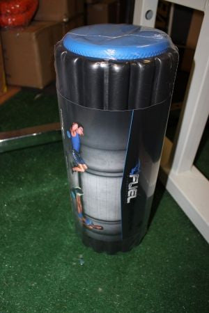 Fuel Performance Foam Roller with Removable Cover (18-Inch) Cap Barbell