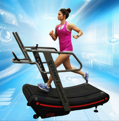 CT700 Non Motorized Curve Treadmill - 8 resistance levels (Free Shipping)