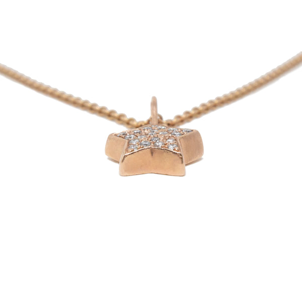 Diamond Star Necklace