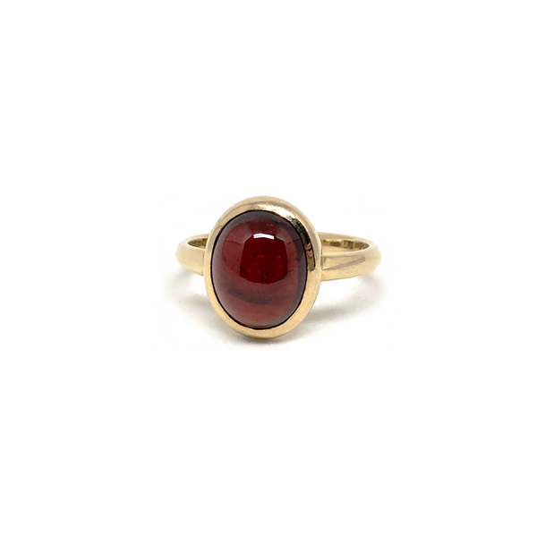 Ruby Gemstone Gold Ring