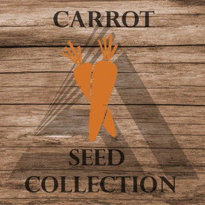 Carrot Assortment - Seed Collection (8 Varieties) Assortment