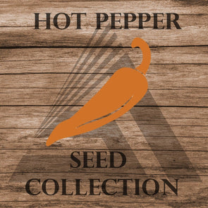 Heirloom Hot Pepper Assortment - Seed Collection (10 Varieties) Assortment