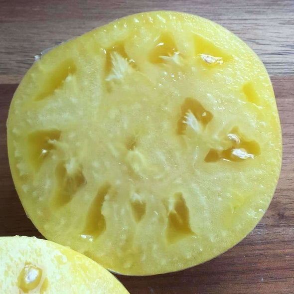 Tomato Great White Beefsteak - (Solanum Lycopersicum) Seeds