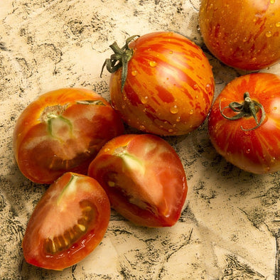 Tomato Red Zebra - (Solanum Lycopersicum) Seeds
