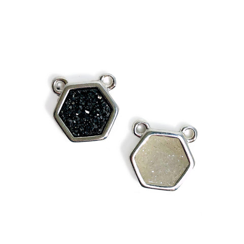 Crystal Bezel Connector  13mm x 15mm GPS (GC-21)