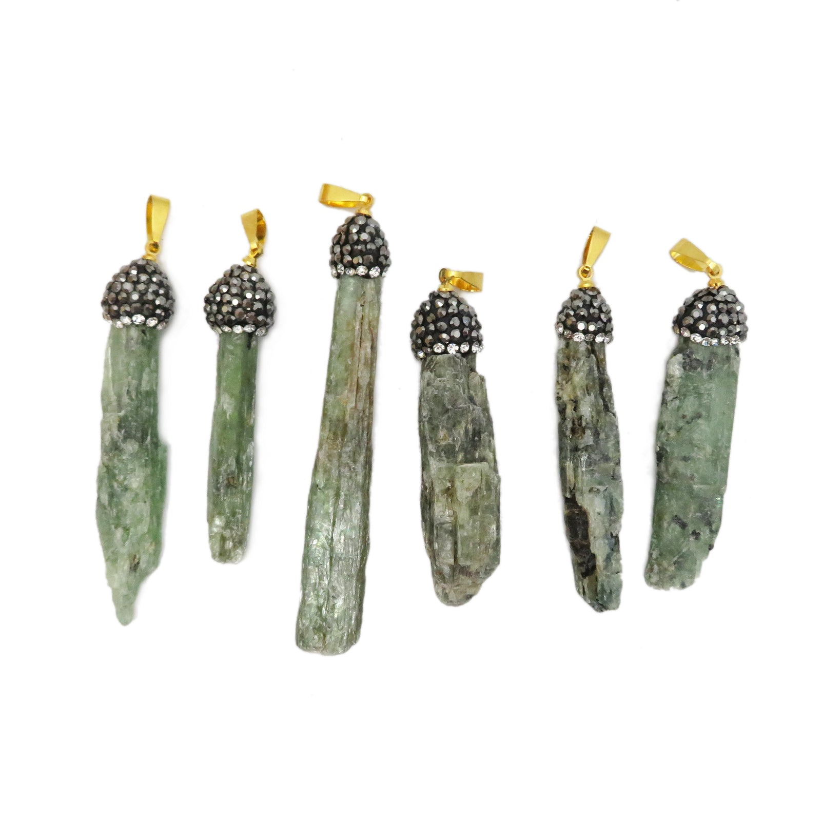 Green Kyanite Pendant (S51B21-01)