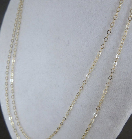 Gold Fill 14kt Chain Finished 30