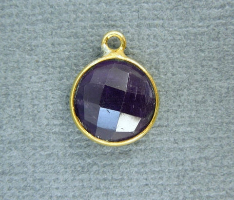 Tibetan-Style Teardrop Pendant with Black Accent Silver Toned Brass Bail