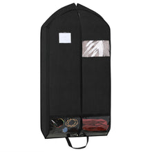 "Load image into Gallery viewer, Magicfly 42"" Garment Bags with Zipper Pockets for Suits, 2 packs - Magicfly"