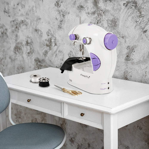 Portable Sewing Machine-W/Extension Table, Light - Magicfly