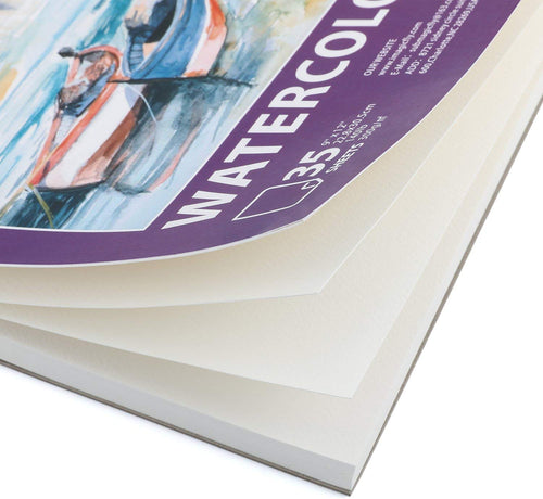 Watercolor Paper Pad-3 Pack 140 Pound(Each), 9 X 12 inches - Magicfly
