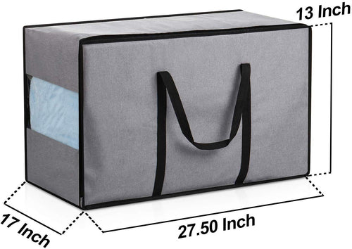 "Waterproof Storage Bag-W/Handle, 28""X 13""X17"", Gray - Magicfly"