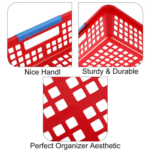 Magicfly 8 Pack Paper Trays Baskets Bins for Classroom Office - Magicfly